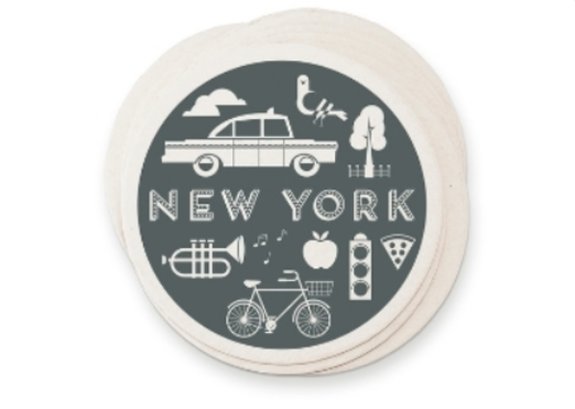 38 - New York Luxury Coaster manufacturer and supplier in China