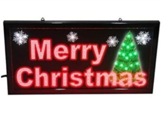 41 - Christmas Lighting Sign manufacturer and supplier in China
