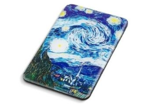 41 - Van Gogh Epoxy Wooden Magnet manufacturer and supplier in China