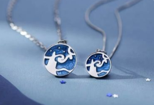 42 - Van Gogh Enamel Pendant manufacturer and supplier in China