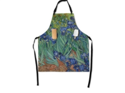44 - Van Gogh Souvenir Apron manufacturer and supplier in China