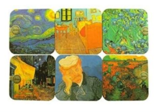 45 - Van Gogh Painting Coaster manufacturer and supplier in China