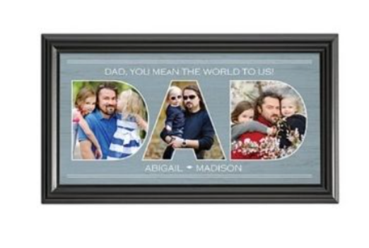 5 - Father Gift Photo Frame manufacturer and supplier in China
