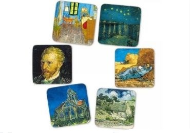 6 - Museum Souvenir Coaster manufacturer and supplier in China