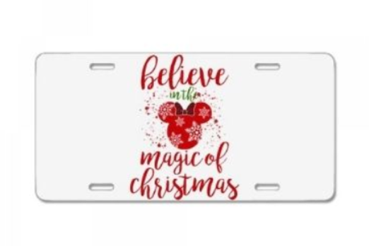 7 - Christmas License Plate manufacturer and supplier in China