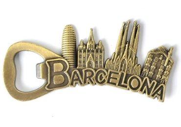 Barcelona Souvenir Bottle Opener manufacturer and supplier in China