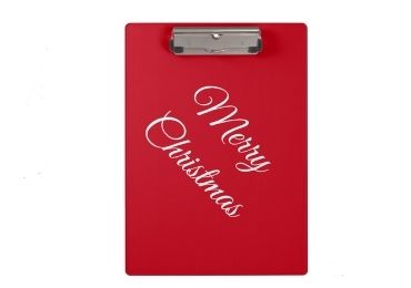 Christmas Clipboard Folder manufacturer and supplier in China