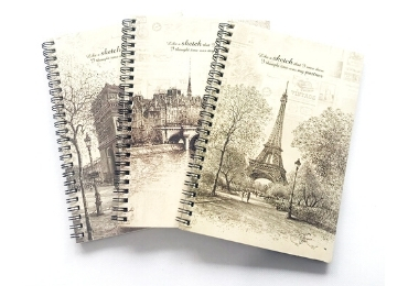 Double Ringed Notebook A6 manufacturer and supplier in China