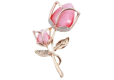 Flower Brooch manufacturer and supplier in China