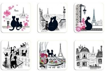 France Souvenir Coaster Set manufacturer and supplier in China