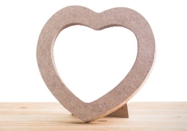 Heart Shape Photo Frame manufacturer and supplier in China