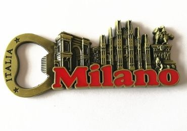 Milano Souvenir Bottle Opener manufacturer and supplier in China