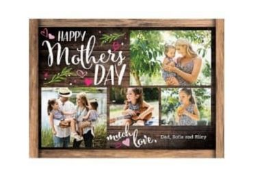 Mother Gift Photo Frame manufacturer and supplier in China