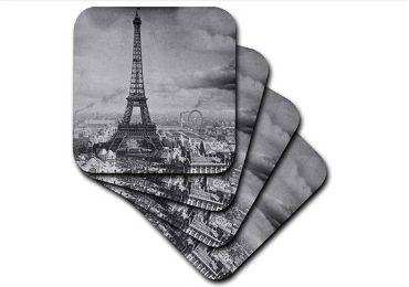 Paris Souvenir Coaster manufacturer and supplier in China