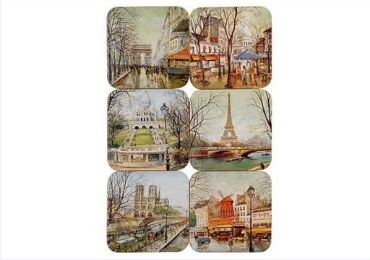 Paris Souvenir Coasters manufacturer and supplier in China
