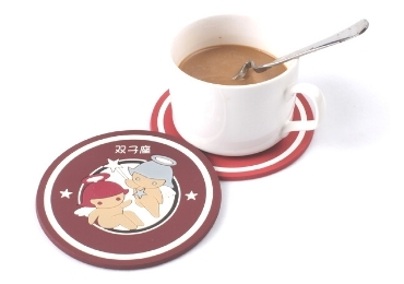 Soft PVC Souvenir Coaster manufacturer and supplier in China