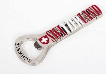 Switzerland Metal Souvenir Bottle Opener manufacturer and supplier in China