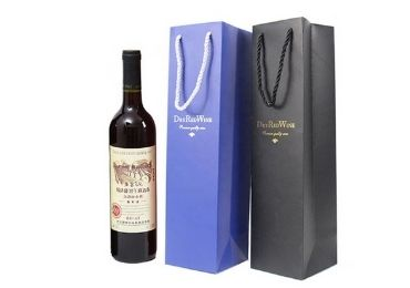 Wine Paper Bag manufacturer and supplier in China