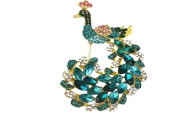 custom Bird Brooch manufacturer and supplier in China