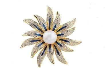 Jewel Brooch manufacturer and supplier in China