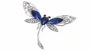 custom Dragonfly Brooch manufacturer and supplier in China