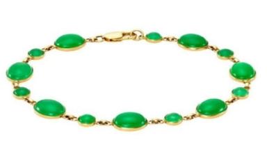 20 - Emeralds Bracelet manufacturer and supplier in China