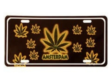 Amsterdam Souvenir License PLate manufacturer and supplier in China