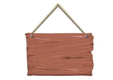 Blank Wooden Sign manufacturer and supplier in China