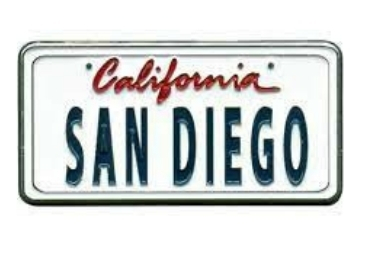 California License Plate Magnet manufacturer and supplier in China
