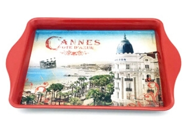 Cannes Souvenir Tray manufacturer and supplier in China