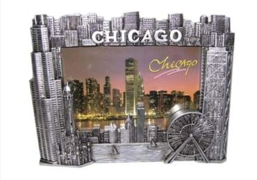 Chicago Souvenir Photo Frame manufacturer and supplier in China