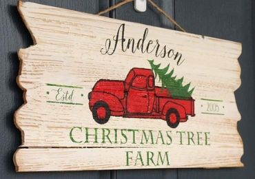 Christmas Wooden Sign manufacturer and supplier in China