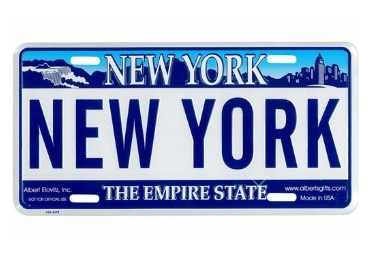 Custom Souvenir License Plate manufacturer and supplier in China