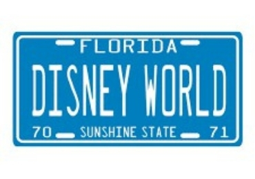 Disney Souvenir License Plate manufacturer and supplier in China