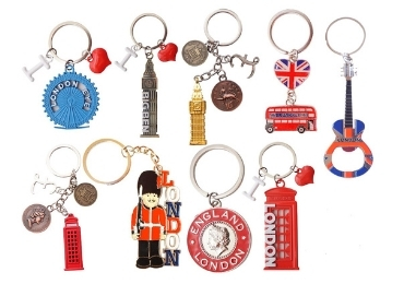 Enamel Metal Souvenir Keychain manufacturer and supplier in China