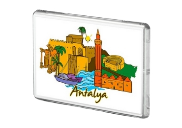 11 - Acrylic Souvenir Magnet manufacture and supplier in China