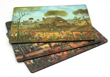12- MDF Wooden Souvenir Placemat manufacturer and supplier in China