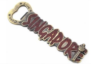 27 - Singapore Souvenir Bottle Opener manufacturer and supplier in China