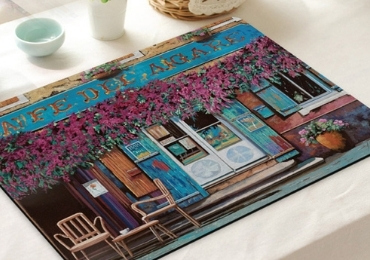 5 - England Souvenir Place Mat manufacturer and supplier in China