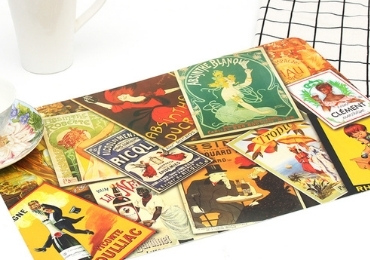 6 - Beautiful Souvenir Place Mat manufacturer and supplier in China