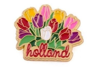 Flower Souvenir Pin manufacturer and supplier in China