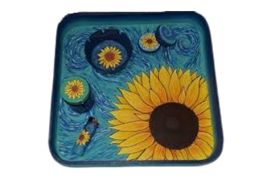 Flower Souvenir Tray manufacturer and supplier in China