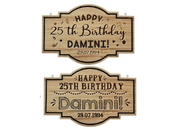 Gift Wooden Sign manufacturer and supplier in China