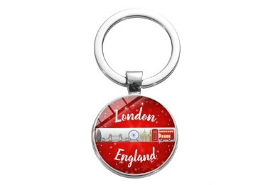 Great Britain Souvenir Keychain manufacturer and supplier in China