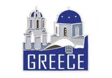 Greece Souvenir Pin manufacturer and supplier in China
