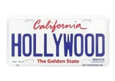 Hollywood Souvenir License Plate manufacturer and supplier in China