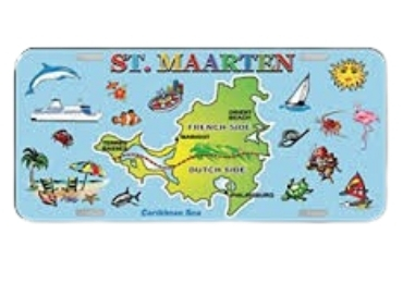 Island Souvenir License Plate manufacturer and supplier in China