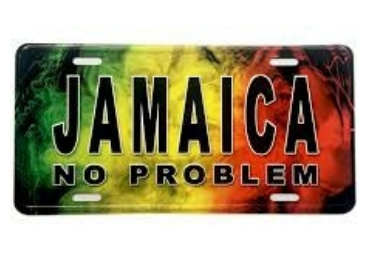Jamaica Souvenir License Plate manufacturer and supplier in China