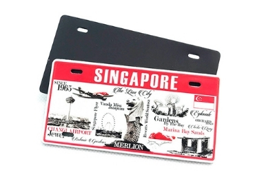 License Plate Souvenir Magnet manufacturer and supplier in China