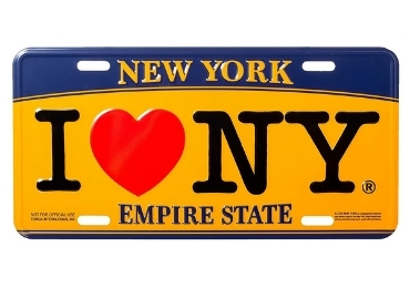 Metal Souvenir License Plate manufacturer and supplier in China